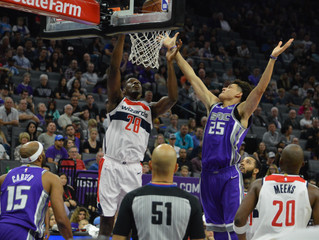 John Wall Makes 5 Treys In Wizards' 110-83 Victory Over Sacramento Kings