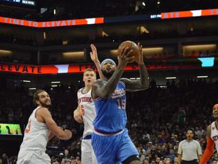 "Matt Barnes Gets ""Scheduled Rest,"" Sacramento Kings Fall 103-100 to Visiting New York Knic"