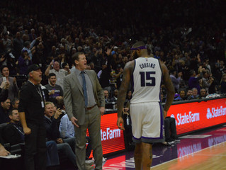 DeMarcus Cousins Scores 55 Points, Leads Sacramento Kings To 126-121 Victory Over Portland Trail Bla