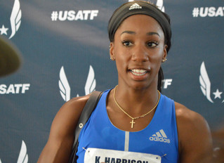 2017 U.S. Track and Field: Harrison Returns With World Mark In Women's 100m Hurdles, Gatlin Wins
