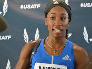 2017 U.S. Track and Field: Harrison Returns With World Mark In Women's 100m Hurdles, Gatlin Wins