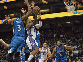 Timberwolves' Towns and Wiggins Too Much For Kings, Take 102-88 Road Win