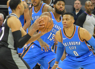 Russell Westbrook's 3-point Basket At The Buzzer Lifts OKC Over Sacramento Kings 110-107