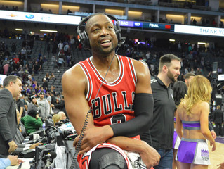 Dwayne Wade Thwarts Sacramento Kings' Comeback, Chicago Bulls Win 112-107