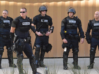 'RoBo Cops' Converge Down On Golden 1 Center For Sacramento Kings/Indiana Pacers' Game