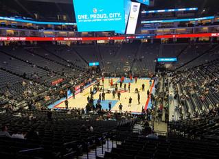 Sacramento Kings and Atlanta Hawks Play Game Despite Protests Outside of Golden 1 Center