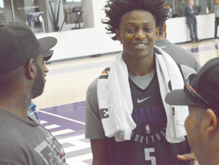No HyperX® Signature Line For De'Aaron Fox Yet, But 'Customized' Headset In The Works