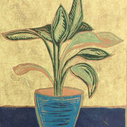 Potted Plant - Indoor Plant Print