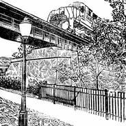 Milford Train - Train Print