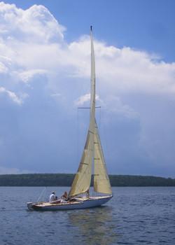 Bernida sailing