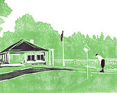 Wawashkamo Golf Club Artwork