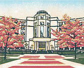 Michigan Supreme Court Hall of Justice print