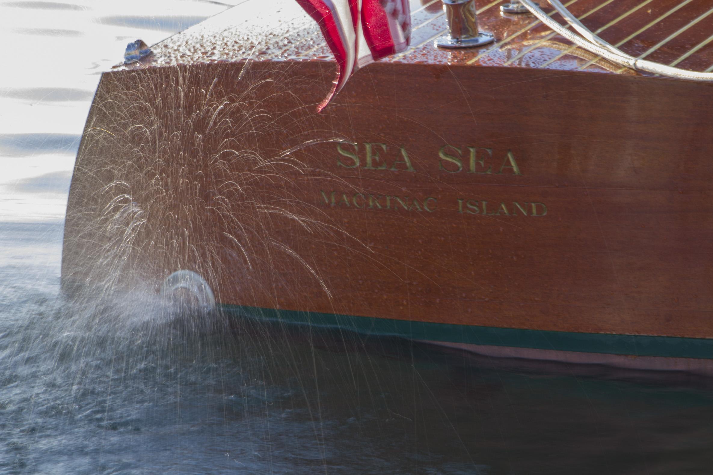 Sea Sea transom