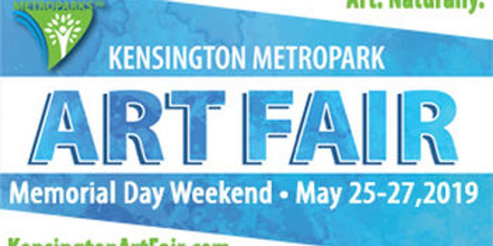 May 25-27 | Kensington Metropark Art Fair