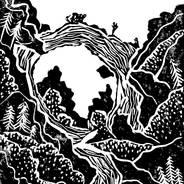 Below the Arch - Mackinac Island Print