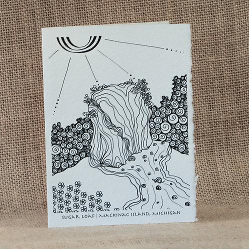Coloring Cards | Sugar Loaf