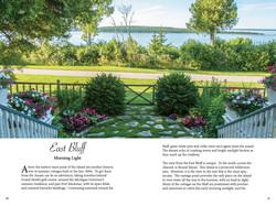 East Bluff garden views