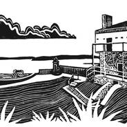 Fort Mackinac Blockhouse - Mackinac Island Print