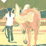 Forever Friends - Horse & Girl Print