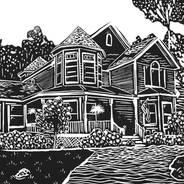 Far, Far Away Cottage - Architecture Print