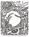 free downloadable Mackinac Island Arch Rock coloring page