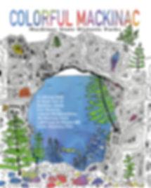 COLORFUL Mackinac, Mackinac Island coloring book