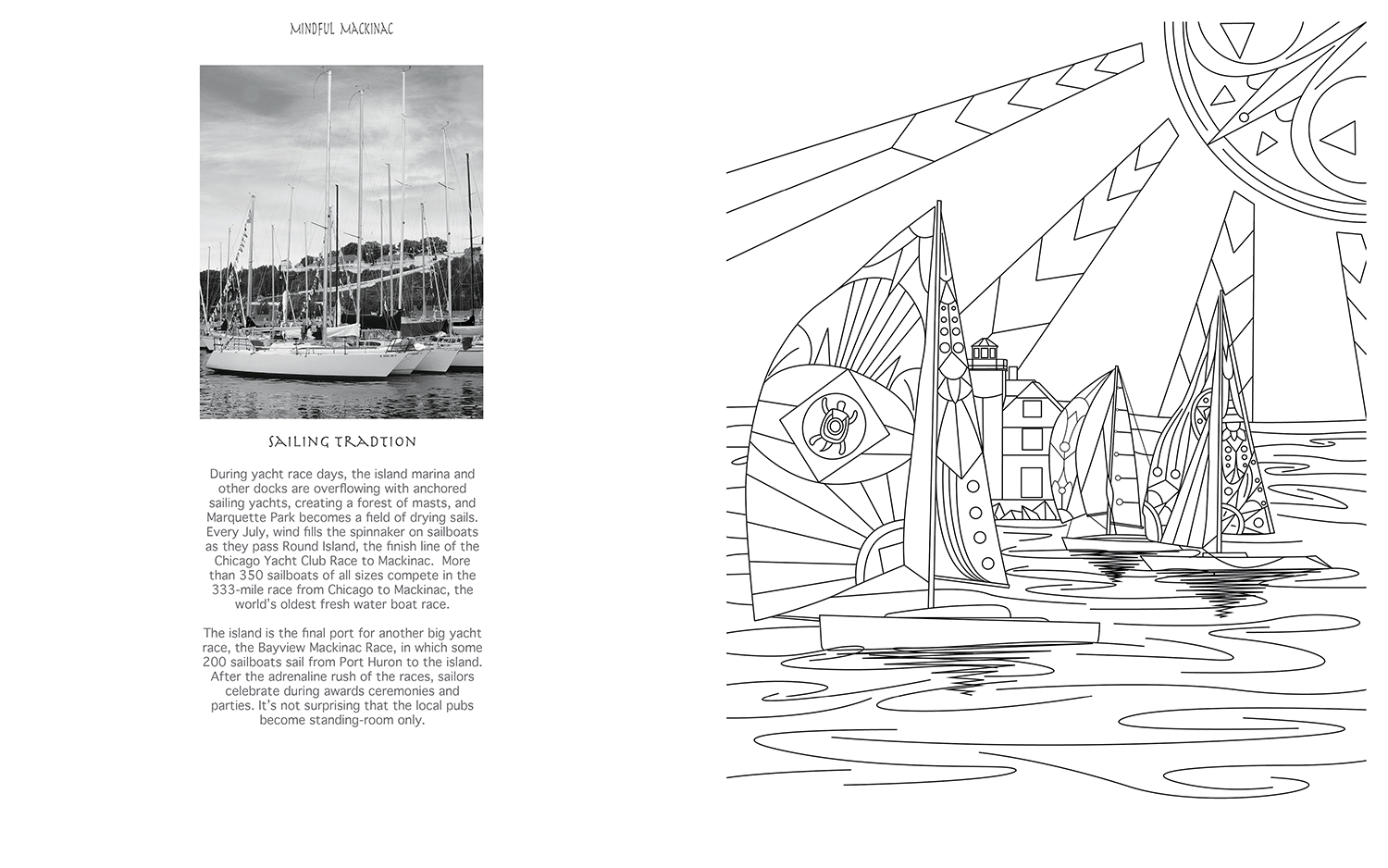 Mindful Mackinac Coloring Book