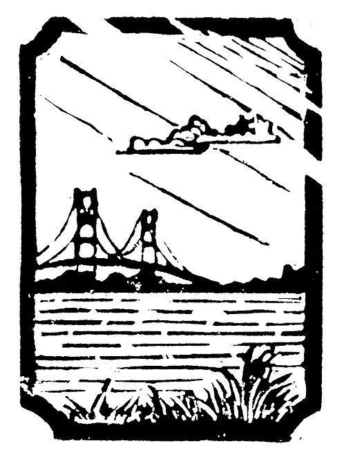 Mini Mighty Mac | Mini Original Block Print