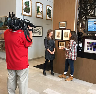 Natalia Wohletz interviewed about ArtPrize pieces