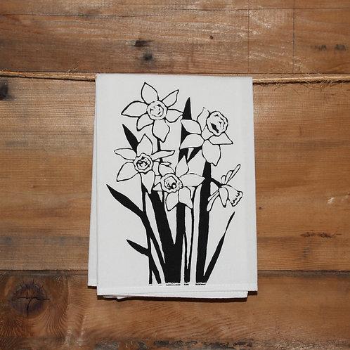 Daffodils Tea Towel