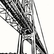 Mighty Mac - Mackinac Bridge Print