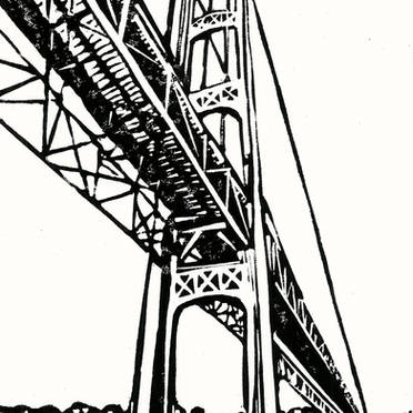 Mighty Mac - Mackinac Bridge Print