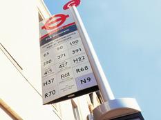 London Buses Bus Stop