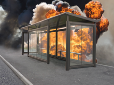 Bomb Blast Shelter
