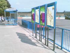 Fife Freestanding Display