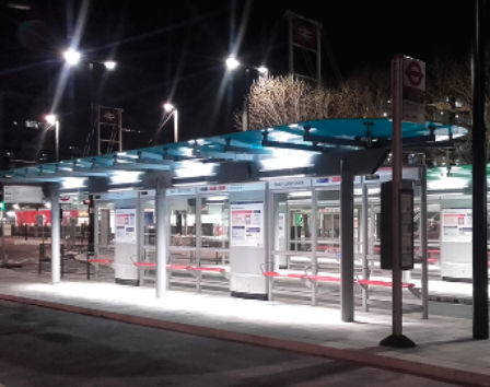 East Croydon Bus Shelter