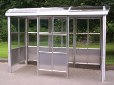 Anti Vandal Rail Shelter