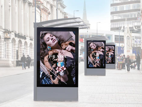 Digital Double Sided 6 Sheet Display
