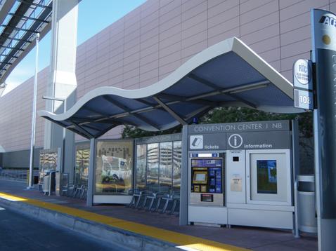 Sinewave BRT Shelter