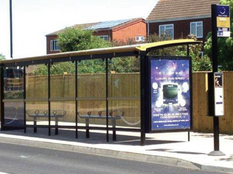 Hampshire BRT Shelter