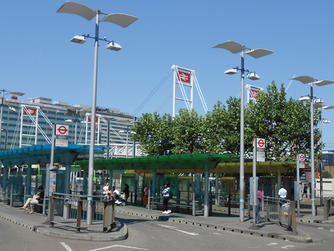 East Croydon Bus Station Shelter