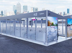 Enclosed Cycle Shelter