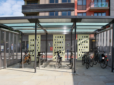DLR Cycle Shelter