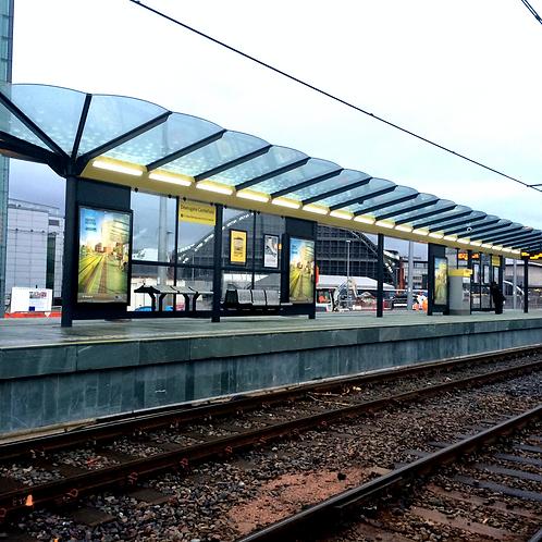 Deansgate Integra Platform Shelter