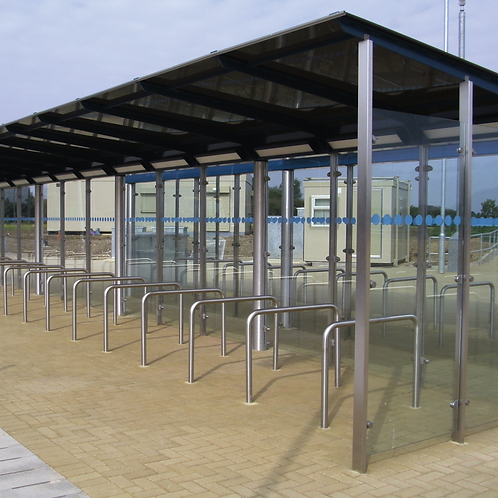 Cambridgeshire Cycle Shelter