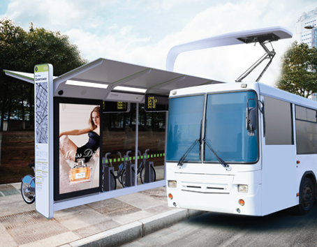 Bus EV Charge Shelter