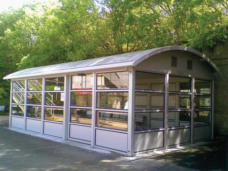 Prestige Rail Waiting Shelter