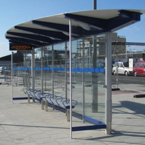 Luton Busway Shelter