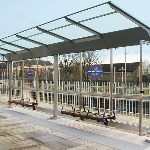 Crossrail Platform Shelter