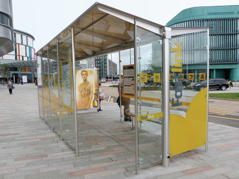Gullwing BRT Shelter